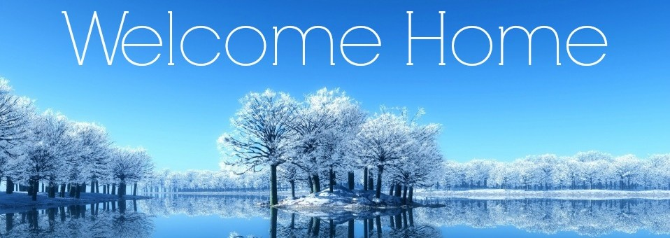 Welcome Slide-Winter Theme