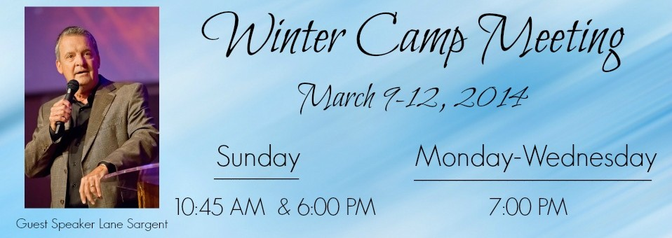 Winter Camp Meeting 2014